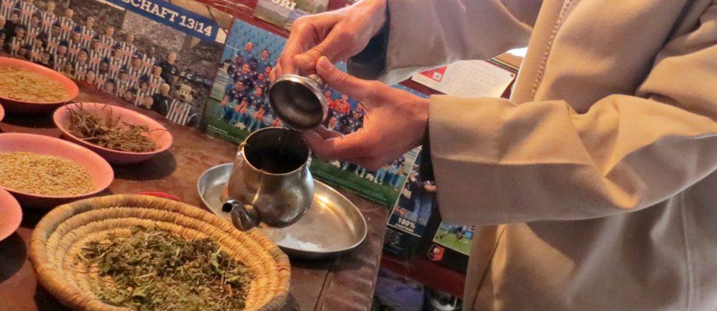 Tee beim Gewürzhändler