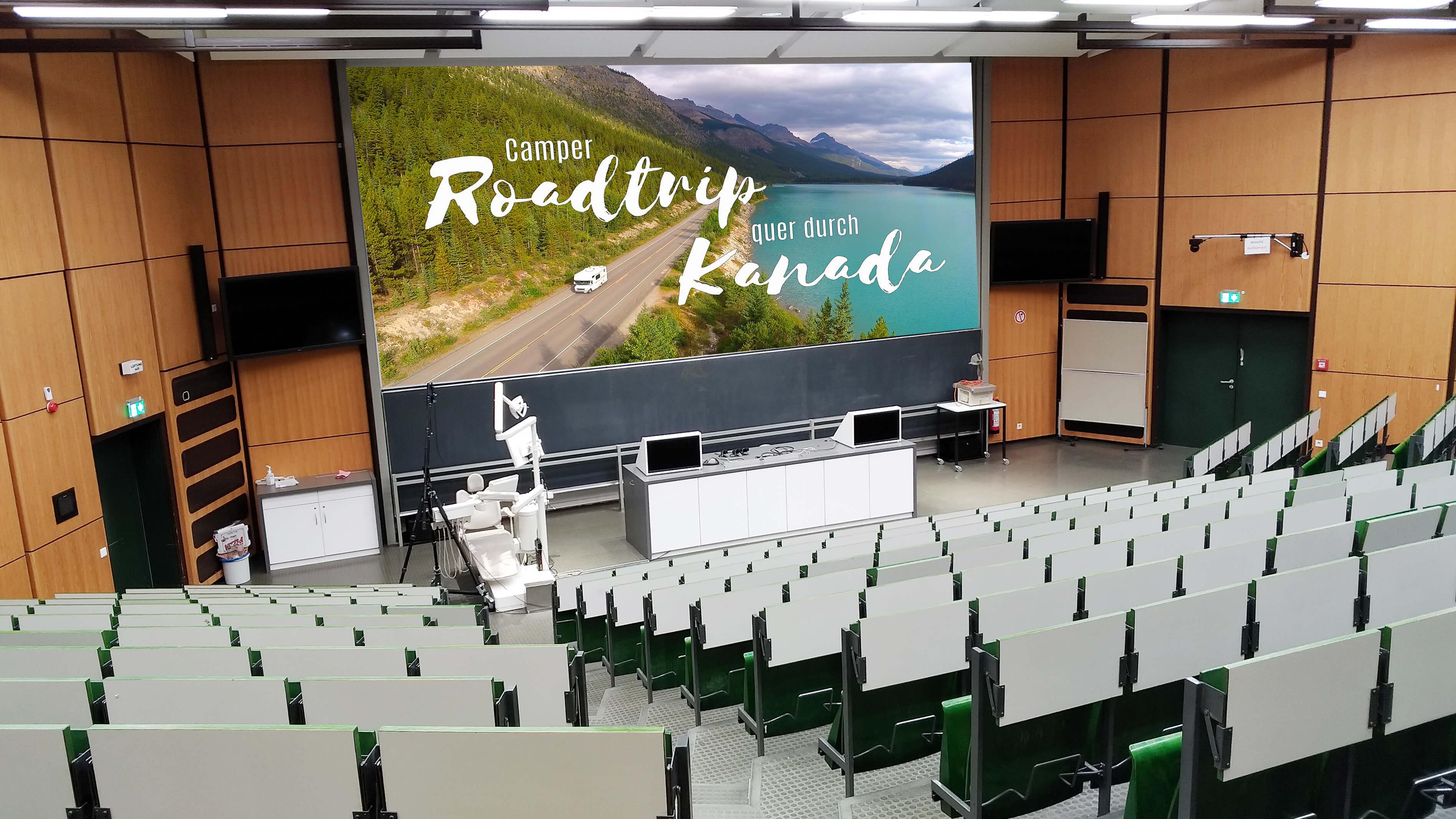 Bild von Hörsaal P (in der MHH) Veranstaltungsbereich