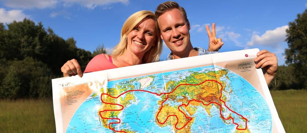 Unsere (un)geplante Reiseroute (Video)