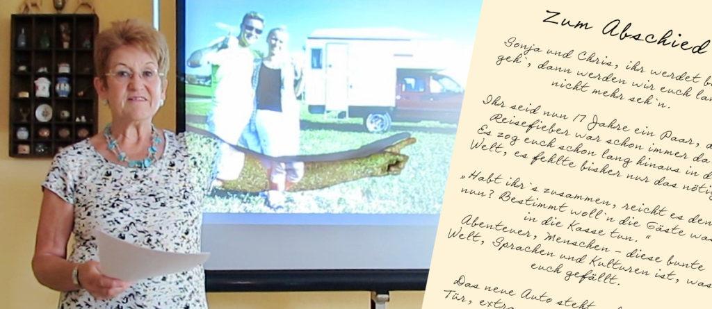 Reisevorbereitungen - Ein Gedicht von Mama