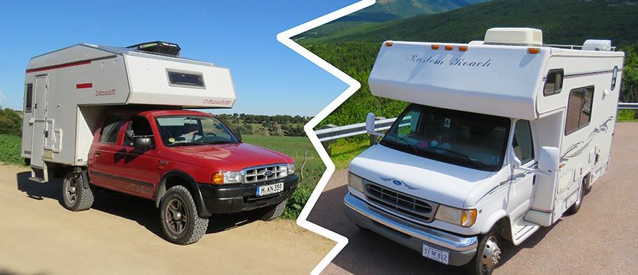 Mit dem Camper durch die Welt