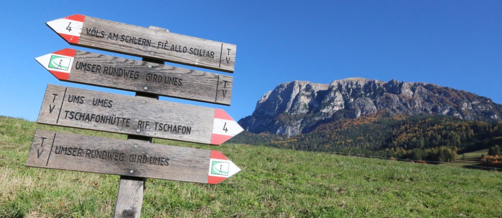 Wandertag in Südtirol (Foto-Slideshow)