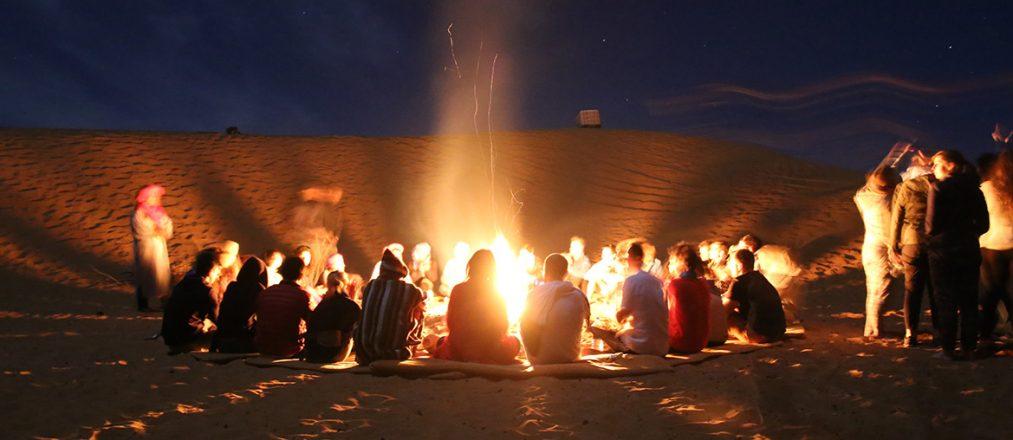 Berbercamp in der Sahara