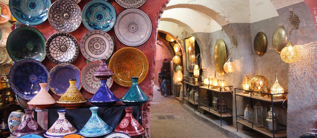 Stadtbummel durch Marrakesh