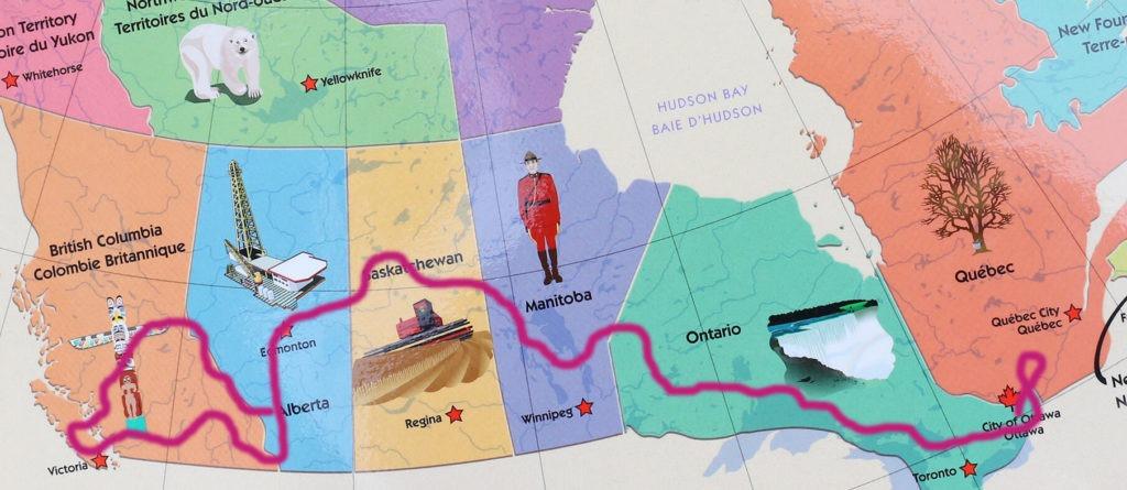 GO WEST - Unser geplanter Roadtrip durch Kanada